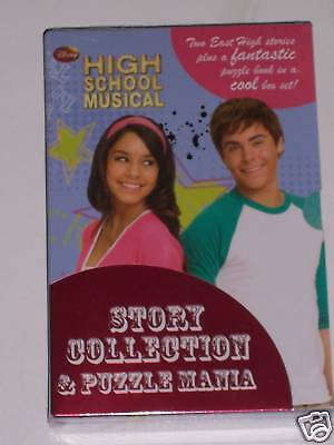High School Musical: 2 Story & 1 Puzzle Book In Slipcas