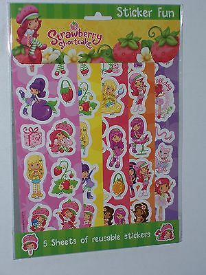 Strawberry Shortcake Sticker Fun