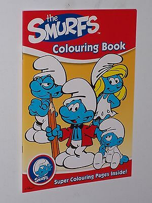 The Smurfs Colouring Book