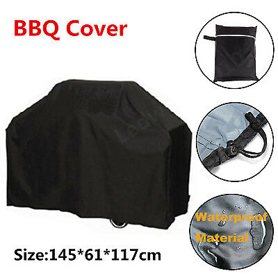 Large BBQ Cover Outdoor Rain Waterproof Barbecue Garden Patio Grill Protector CA