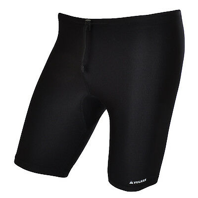 Vulkan Mens Compression Sports Skins Armour Base Layer Cycling Shorts - Medium