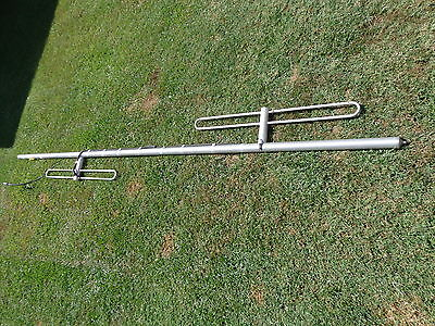 Decibel Andrew  VHF 2 element Dipole Mountain top Radio antenna 10'