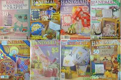 8 Handmade Magazine All With Paper Pattern In Good Condition