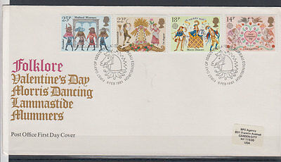 Great Britain folklore FDC 1960