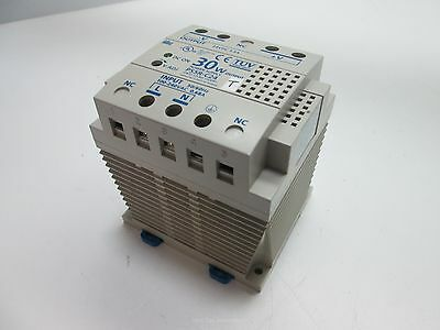 Idec PS5R-C24 Power Supply, Input: 100-240VAC 50/60Hz 0.68A, Output: 24VDC 1.3A