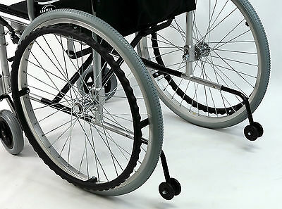 Anti-tipper  For Karman Wheelchair LT- 980  Parts Accessory AT-980 One Pair New