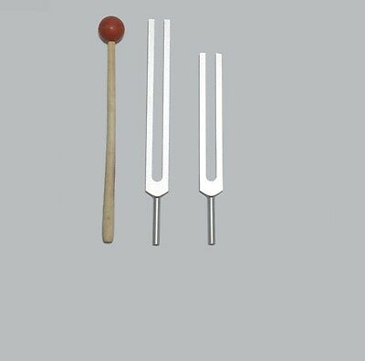 Cellulite Fat Weight Reduction Tuning forks +Mallet