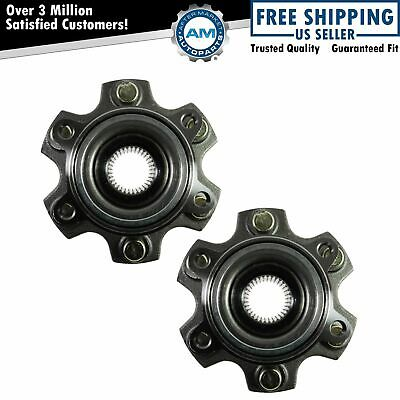 Wheel Bearing & Hub Assembly Rear Pair Set for 01-06 Mitsubishi Montero NEW