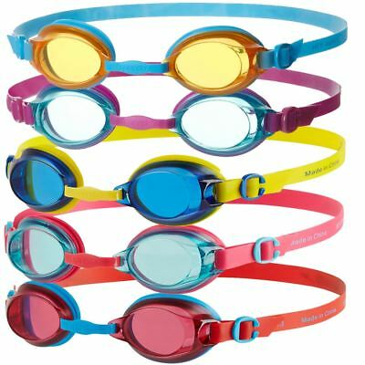 Speedo Jet Junior Kids Ages 6 - 14 Years Uv Antifog Swimming Goggles New