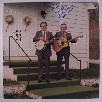 GOINS BROTHERS: He Showed Me The Way LP (autographed by Melvin) Bluegrass
