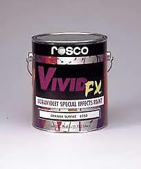 Rosco Vivid FX Fluorescent Paint - Deep Green - 0.47 Litre