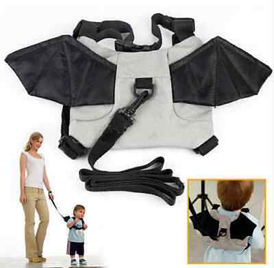 Baby Walking Backpacks Keeper Anti-Lost Leash Harness Bag Cute Cartoon Design Ef