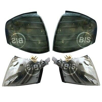 Mercedes W202 S202 C180 C280 93- 00 Blinker SET Schwarz Black Links + Rechts
