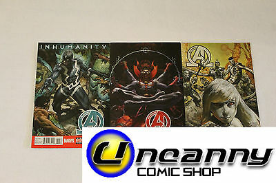 New Avengers 13 14 15 Complete Comic Lot Run Set 1st Print Collection NM