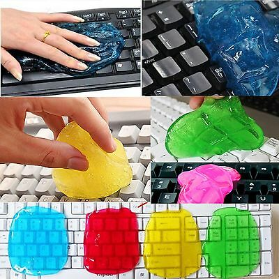 Home Dust Cleaning Compound Super Clean Slimy Gel Cleaner Wiper For Keyboard New