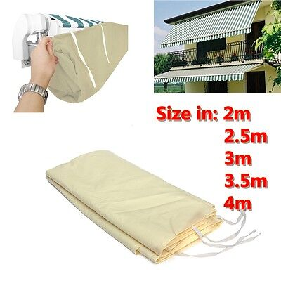 Patio Courtyard Awning Sun Canopy Winter Storage Dust Bag Rain Cover Protector