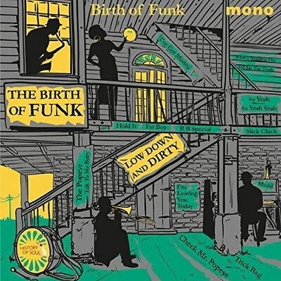 "Various - The Birth Of Funk (NEW 12"" VINYL LP)"