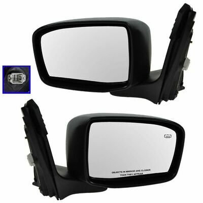 Folding Power Heated Side View Mirrors Left & Right Pair Set for 05-10 Odyssey