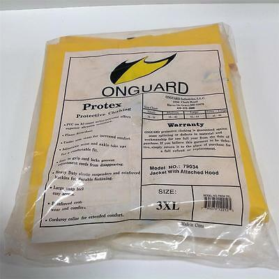 Onguard Size 3Xl Jacket W/ Attached Hood 79034