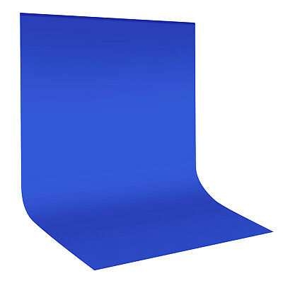 Neewer Photo Studio Blue 10 x 12ft Muslin Collapsible Backdrop Background
