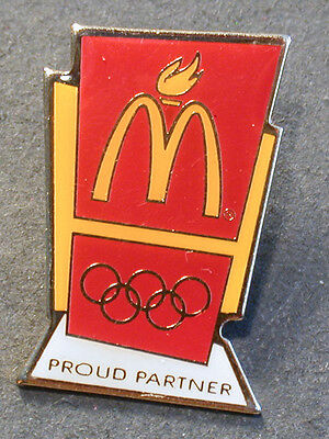 Pin Mcdonald´s Proud Partner  (An2369)