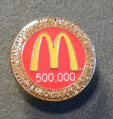 Pin Mcdonald´s 500000 Euromission  (An2376)