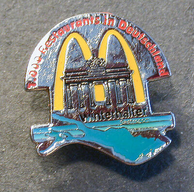 Pin Mcdonald´s Winterhalter Restaurants (An2377)