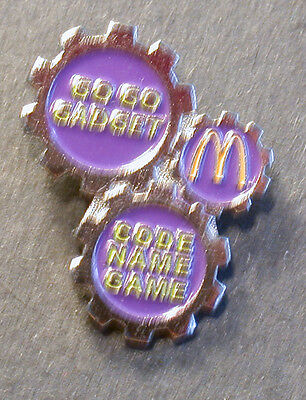 Pin Mcdonald´s Go Go Gadget Code Name Game  (An2388)