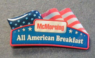 Pin Mcdonald´s  Mc Morning All American Breakfast (An2391)