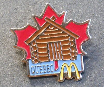 Pin Mcdonald´s  Canada Quebec  (An2408)