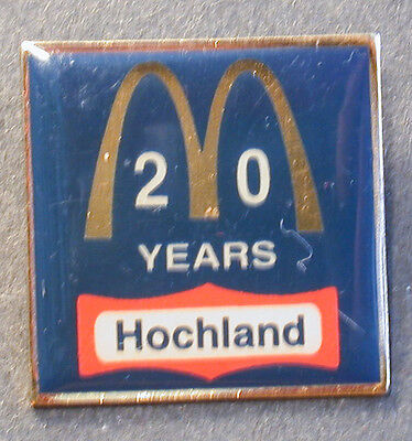 Pin Mcdonald´s Hochland 20 Years Glasierter Pin   (An2418)