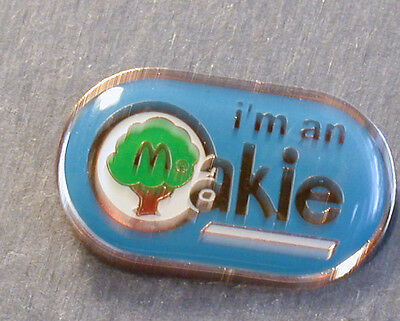 Pin Mcdonald´s I´m An Oakie Mc Donald Pin Blau  (An2421)
