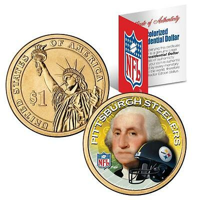 PITTSBURGH STEELERS NFL US Mint PRESIDENTIAL Dollar Coin