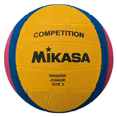 Mikasa 1344 W6608W Water Polo Ball Size 2 Junior Competition Game Ball