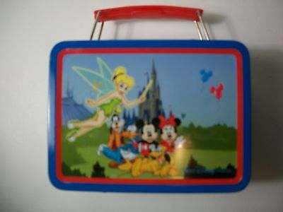 "Disney Lunch Box Tin New Approx. 5 1/2"" X 4"""