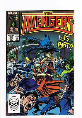 Avengers # 291 Shadows of the Future Past ! grade 9.0 movie hot book !!