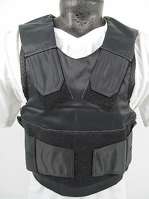 COVER ONLY!!! Ex Police Stab & Bullet Proof Vest Body Armour Overt Covert J4/S8