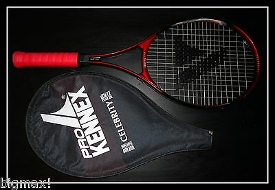Pro Kennex Racket CELBERITY 95 Wide Body Tennis Racquet COVER & NEW GRIP FreeS&H