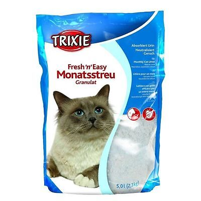 TRIXIE Fresh'n'Easy Granules, 5 l pour chat - Fresh'n'Easy Granules, 5 l NEUF