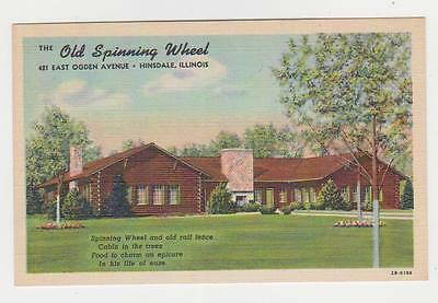 Hinsdale,Illinois,The Old Spinning Wheel,Restaurant,Roadside America,c.1940s