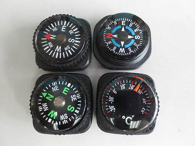 3 Compass + 1 Thermometer  With Hold For 20Mm Watch Band -490