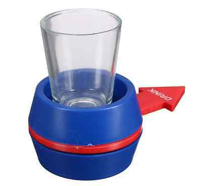 Spin The Shot Drinking Game Rave Party Funny Roulette Drinking Alcohol Random xp