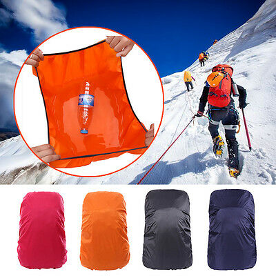 Waterproof 45-65L Backpack Should Bag Rain Proof Cover Outdoor Camping Hiking