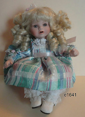 Marie Osmond BABY ANGELICA'S FIRST BIRTHDAY Porcelain Tiny Tot  Doll - Mint