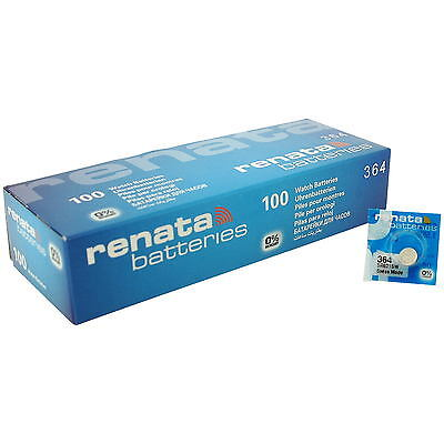 Renata 364 SR621SW Watch Battery Wholesale X1 , X2 , X3 , X5 , X10 , X50 , X100