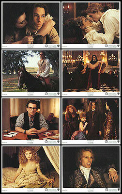 INTERVIEW WITH THE VAMPIRE orig 1994 color lobby still set TOM CRUISE/BRAD PITT