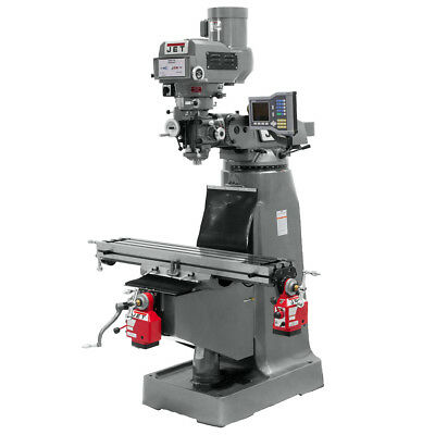 Jet JTM-4VS Mill with ACU-RITE VUE DRO with X and Y-Axis Powerfeeds 690420
