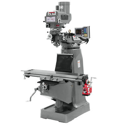 Jet JTM-4VS-1 Mill with ACU-RITE 300S DRO with X-Axis Powerfeed 690303
