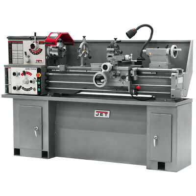 JET GHB-1340A Geared Head Bench Lathe With Taper Attachment