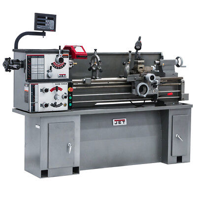 JET GHB-1340A Geared Head Bench Lathe With ACU-RITE 200S DRO & Taper Attachment